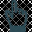Finger Gesture Finger Print Index Finger Icon