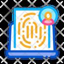 Finger Identity Finger Signature Icon
