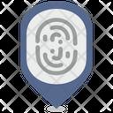 Location Person Biometry Icon