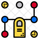 Finger Lock Fingerprint Protection Icon