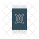 Thumb Scanner Finger Lock Private Icon