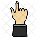 Finger Pointing Hand Gesture Finger Tap Icon