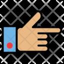 Finger Gesture Hand Icon