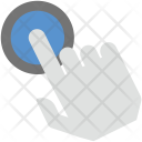 Finger Pressing Icon