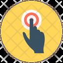 Finger Pressing Finger Gesture Finger Touch Icon