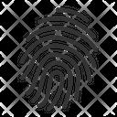 Finger Print Evidence Finder Icon