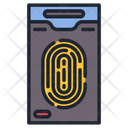 Finger Print Mobile Lock Smart Lock Icon