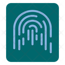 Finger Print Security Finger Gesture Icon