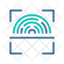 Finger-print scanner Icon