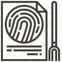 Fingerprints Identification Interface Icon