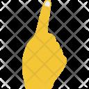 Index Pointer Upward Icon