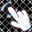 Finger Refresh Icon