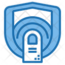 Finger Scan Shield Protection Icon