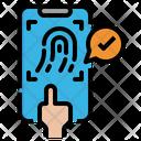 Finger Scan Finger Scan Icon