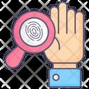 Finger Scan Scan Finger Icon