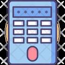 Finger Scanner Finger Keypad Panel Icon