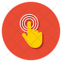 Grab Hand Gesture Finger Touch Icon