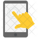 Finger Tap Technology Mobile Icon