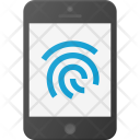 Finger touch id Icon