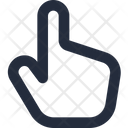 Gesture Finger Up Icon