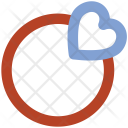 Fingering Heart Sign Icon