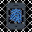 Identity Fingerlock Security Icon