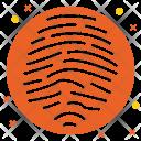 Fingerprint Access Finger Icon