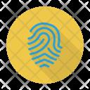 Fingerprint Scan Configuration Icon
