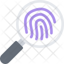 Fingerprints Scan Icon