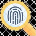 Fingerprint Check Identity Icon