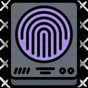 Fingerprint Scanner Hacker Icon