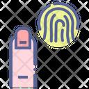 Id Finger Biometric Icon