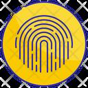 Security Print Fingerprint Icon
