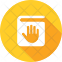Fingerprint Biometric Identification Icon