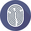 Fingerprint Thumb Print Icon