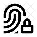 Fingerprint Id Blocked Icon