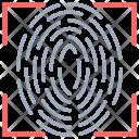 Fingerprint Scanner Reader Icon
