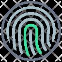 Fingerprint Id Identification Icon