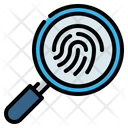 Fingerprint Identification Detective Icon