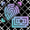 Fingerprint Scan Finger Icon
