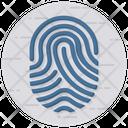 Fingerprint Scanning Fingerprint Reader Identity Scanner Icon