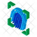 Fingerprint Security Finger Icon