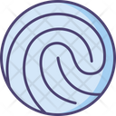 Fingerprint Biomatric Touch Id Icon