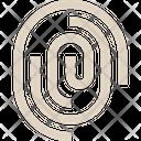 Fingerprint Security Password Icon