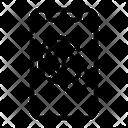 Fingerprint Computer Security Icon