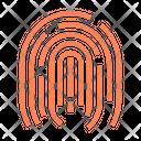 Fingerprint Finger Biometrics Icon