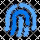 Fingerprint Fingermark Finger Icon