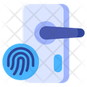 Fingerprint Identity Security Icon