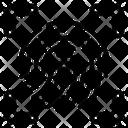 Fingerprint Scan Fingerprint Security Icon