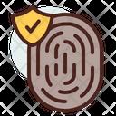 Fingerprint Verified Fingerprint Verified Biomatric Icon